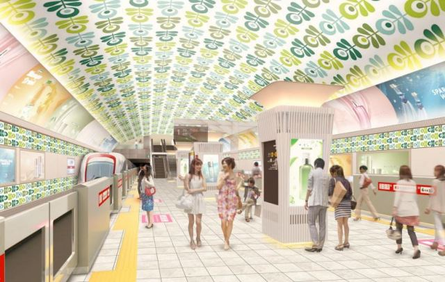 Thousands oppose Osaka Metro's plan to change major stations in giant boats and fabric swatches