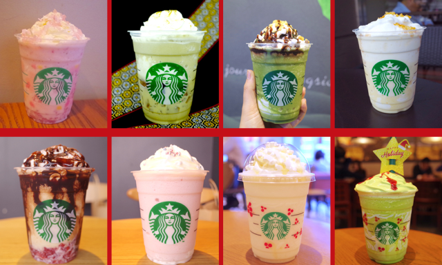 All the amazing Japanese Starbucks Frappuccinos SoraNews24 tried in 2018【Taste tests】