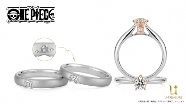 One Piece announces Tony Tony Chopper bridal rings, DIY jewelry service