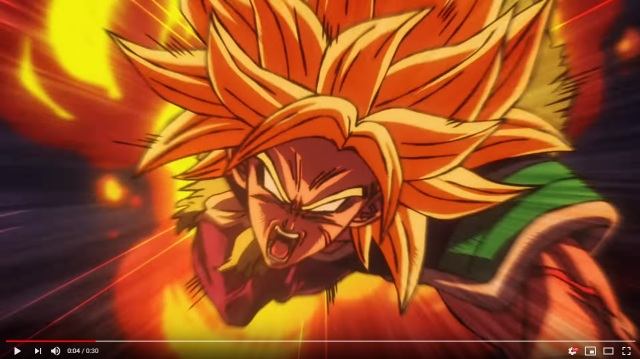 "Explosive preview of ""Dragon Ball Super: Broly"" straight up spoils the plot for everyone【Video】"