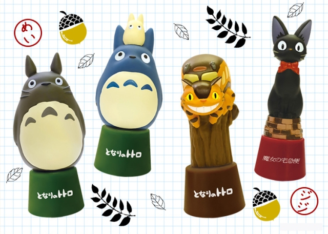Studio Ghibli hanko personal seal stands are here to enliven your mundane daily tasks