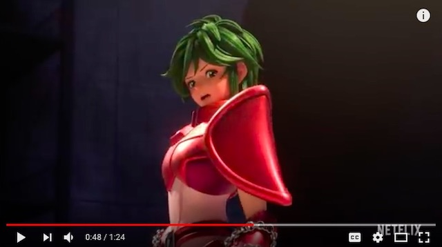 Saint Seiya fans shocked as gender swap for Andromeda Shun revealed in new Netflix series