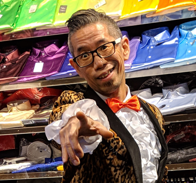 Sato Style: Our ace reporter gets a fashion makeover at Tokyo's most colorful menswear shop【Pics】