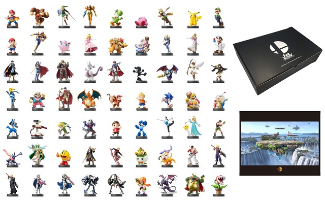 Limited-edition Super Smash Bros. Ultimate Amiibo collection to feature a whopping 63 figurines