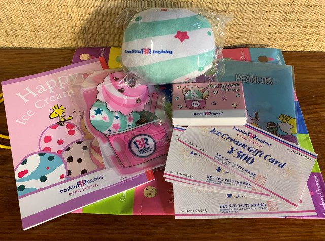 We score another fukubukuro lucky bag from Baskin Robbins Japan with bonus Snoopy【Photos】