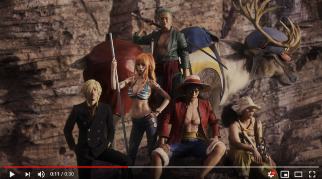 Awesome live-action One Piece video shows Luffy and gang could still look cool in real life