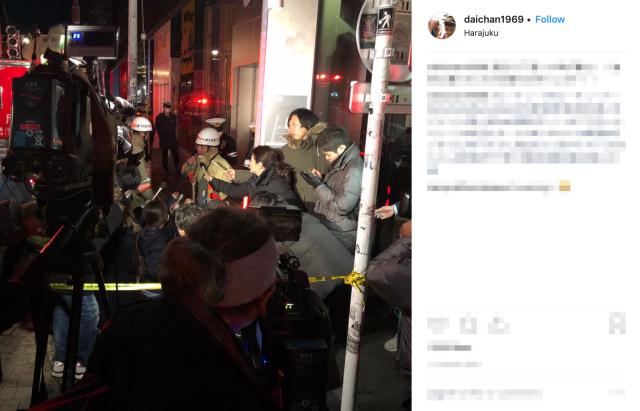 Nine injured in Tokyo after man drives car into pedestrians on Takeshita Street in Harajuku