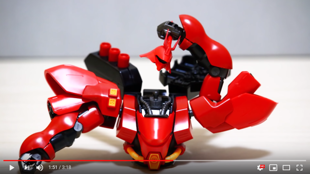 Awesome self-building Gundam model video shows every anime mecha fan's dream come true【Video】