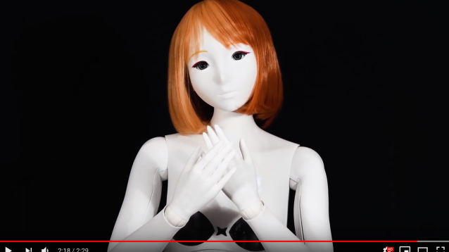 "Bring your 2-D waifu to life with world's first life-sized ""emotional"" robotic figurine 【Video】"