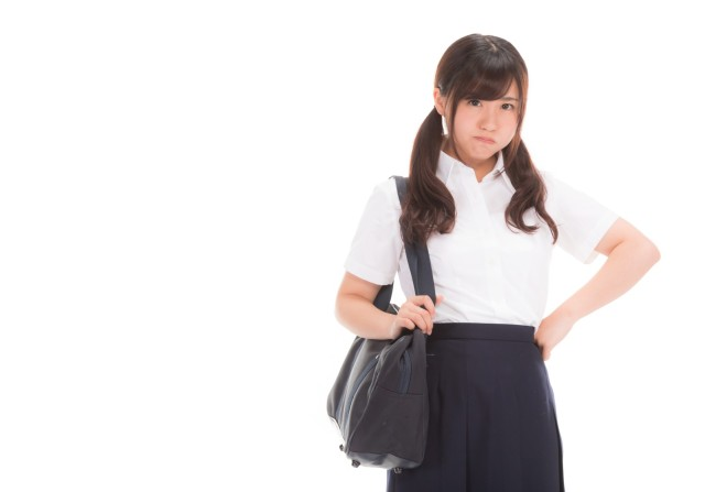 """Short skirts cause sexual assaults"" according to Japanese school uniform poster"