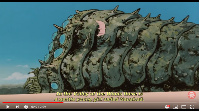 The surprising source of the Ohmus' voices in Ghibli's Nausicaa of the Valley of the Wind
