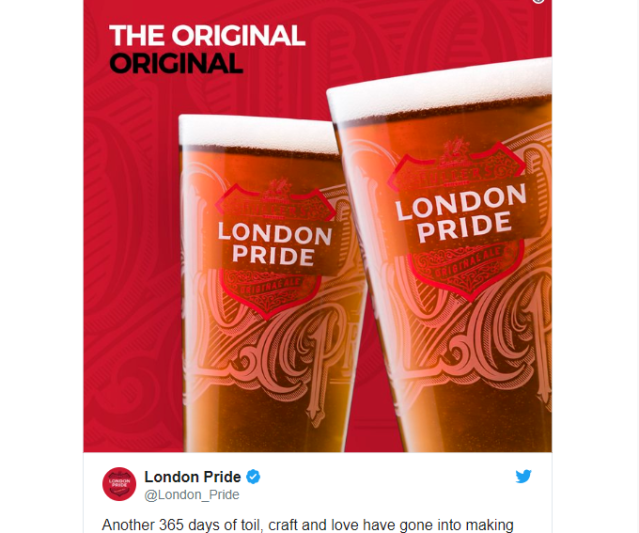 Japanese beer giant Asahi buys British London Pride brewery; U.K. writer hopping mad