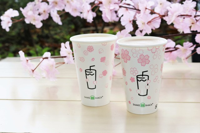 Shake Shack Japan unveils new sakura cherry blossom drinks for 2019