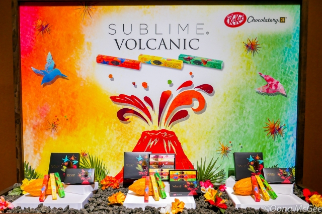 New Volcanic Japanese KitKats unveiled at star-studded Tokyo event