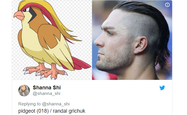 These side-by-sides of Pokémon and baseball players with matching haircuts are super effective!