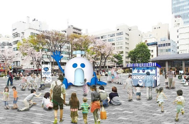 Free Calpis fresh out of the tap available across Japan in celebration of 100th anniversary