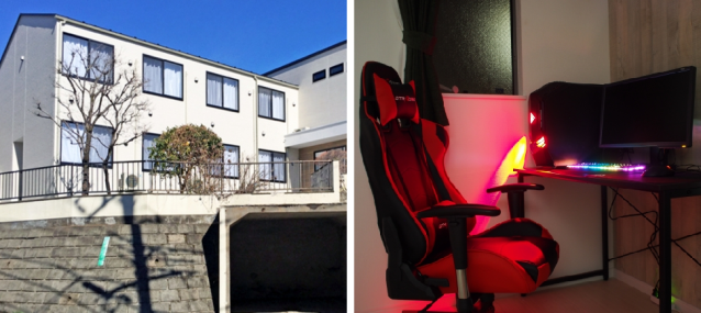 Tokyo has a share house for people who want to be pro gamers, comes furnished with gaming PCs