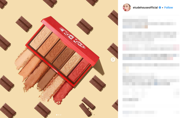 KitKat Makeup: Korean cosmetics brand Etude causes a sensation with new chocolate beauty trend