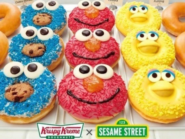 Meet your favorite Sesame Street characters at Krispy Kreme Doughnuts in Japan