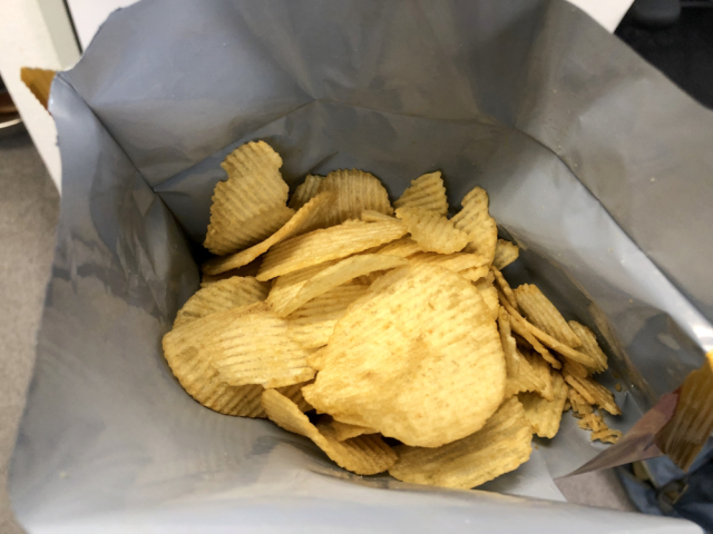 Japan's new microwavable potato chips are amazing, but the best thing isn't how they taste