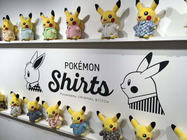A visit to Tokyo's Pokémon Shirts store, and what all 150 original species patterns look like