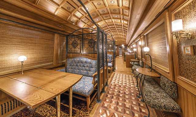 Beautiful Japanese sightseeing train will be unforgettable way to travel country's north island