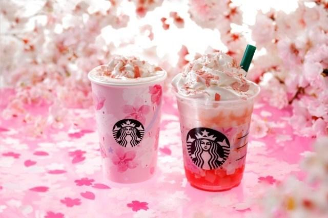 Starbucks Japan unveils new Sakura Frappuccino for cherry blossom season 2019