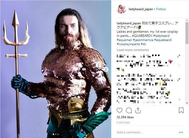 Ladybeard makes a comeback as Aquabeard, unshaven fearsome protector of the deep