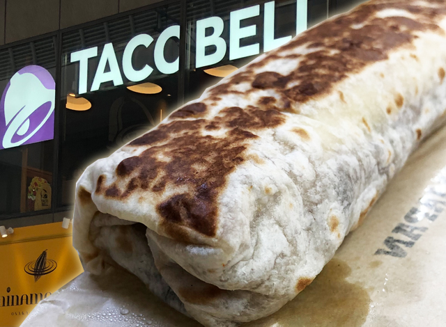 Osaka's Okonomiyaki Burrito is both classic Taco Bell and completely different【Taste test】