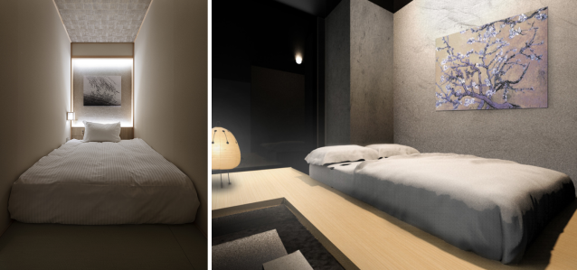 Breathtaking Tokyo hotel's minimalist Zen design shows capsule hotels can be beautiful too【Pics】