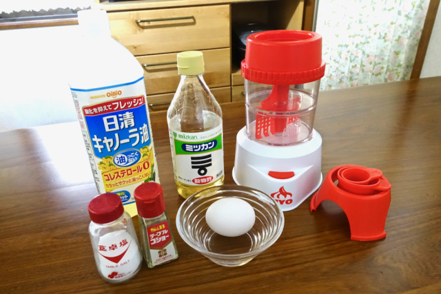 Leading toy maker in Japan releases DIY mayo-making machines