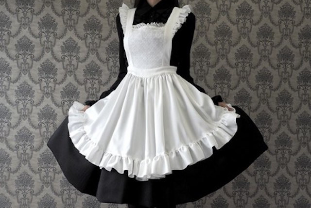 Japanese maid cosplay uniform transforms you into the fairytale anime character of your dreams