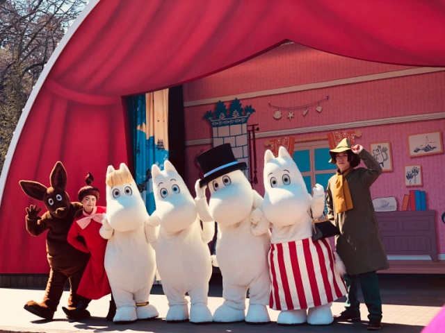 We visit the new Moominvalley Park, have a great time and learn a few life lessons along the way