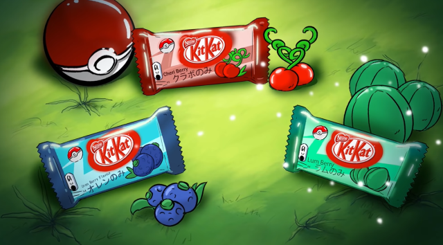 "Mouthwatering Pokémon KitKat ""ad"" has us dreaming of the future of Japanese sweets【Video】"