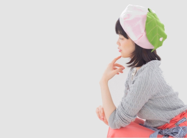 Turn heads under the cherry blossoms with a sakura hat from Japan