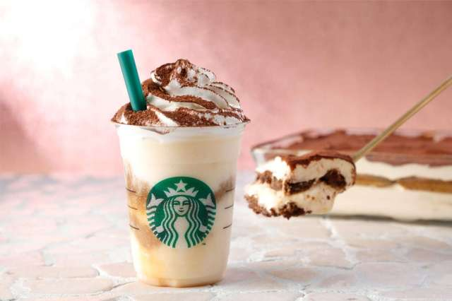 Starbucks Japan unveils new Classic Tiramisu Frappuccino for coffee dessert lovers