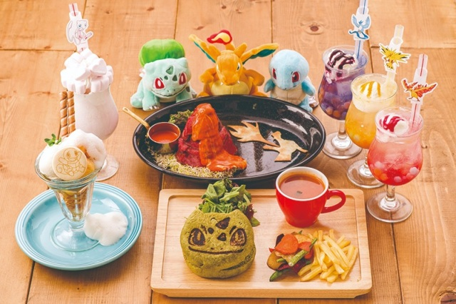 Pokémon Cafe celebrates one-year anniversary with exclusive food and legendary Pokémon drinks
