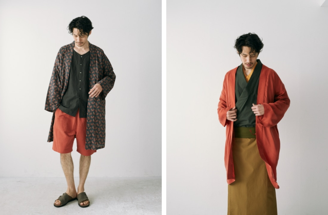 Modern samurai fashion advances into spring with new releases from Shibuya's Wa Robe