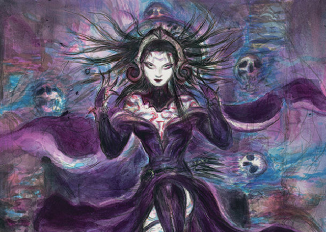Final Fantasy's Yoshitaka Amano illustrates exclusive Japan-only Magic: The Gathering card