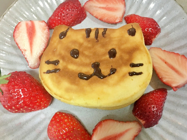 Cat pancakes: Easier to make than normal ones thanks to super-cute, super-cheap Japanese gadget