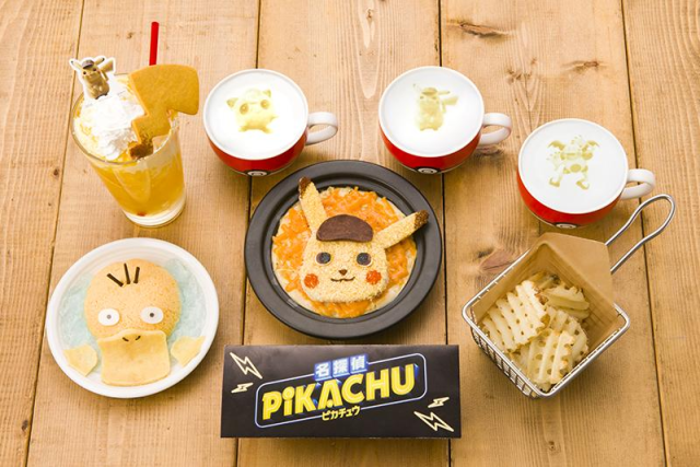 Detective Pikachu makes his Pokémon Cafe debut with new menu items for the live-action sleuth