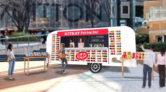KitKat Pairing Bar, manned by AI pairing sake with Kit Kats, to appear in Tokyo this month