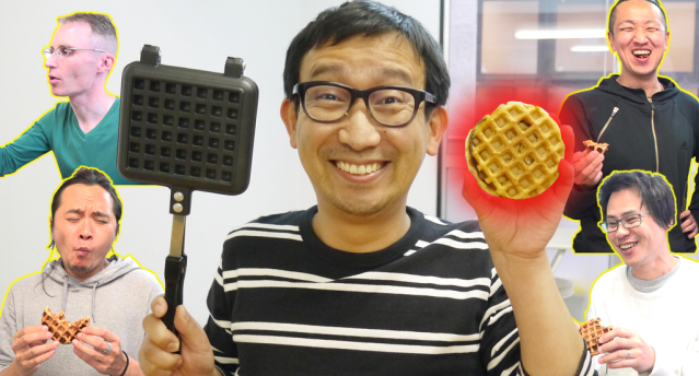 How to make a McDonald's hamburger twice as delicious: Turn it into a waffle!【SoraKitchen】