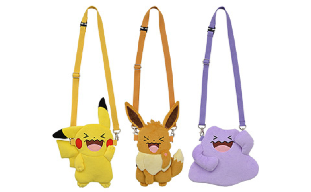 Pikachu and Eevee pay their respects to Wobbuffet with new Pokémon bags and plushies【Photos】