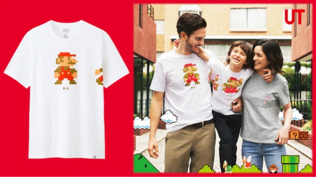 Uniqlo's awesome new line of Nintendo T-shirts features stylish Super Mario, Splatoon designs