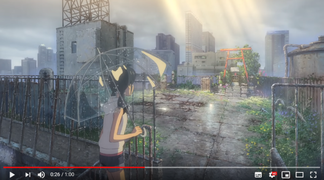 The trailer for Makoto Shinkai's new anime, Weathering with You is here, and jaw-dropping【Video】