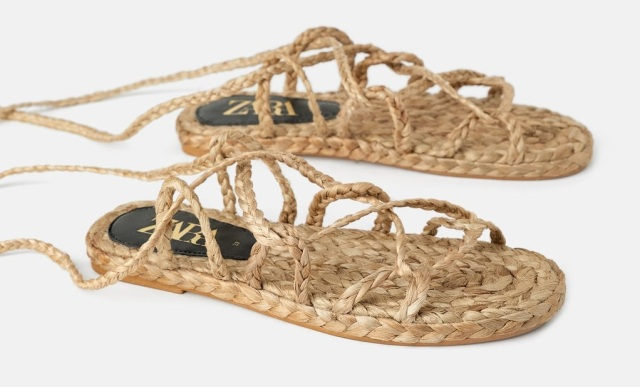 Zara's new woven sandals resemble traditional Japanese footwear, turn heads in Japan