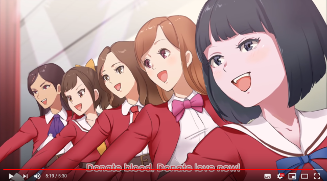 The Japanese government made an idol anime, and it literally wants your blood【Video】