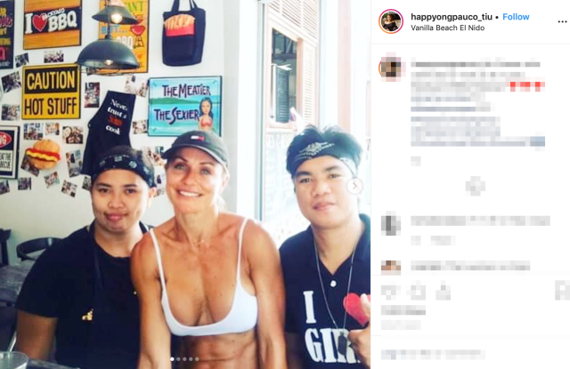 Cameron Diaz in the Philippines? Lookalike tourist has everyone guessing on the island of Palawan