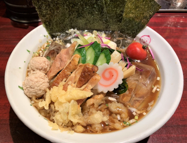 Cold ramen? Yes, it's possible, and yes, it's awesome, as this Tokyo restaurant proves